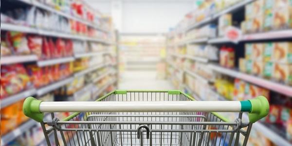 Las ventas en los supermercados bajaron 2,3% en setiembre