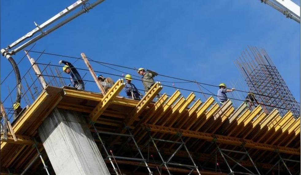 Más del 70% de las obras en construcción en normalidad