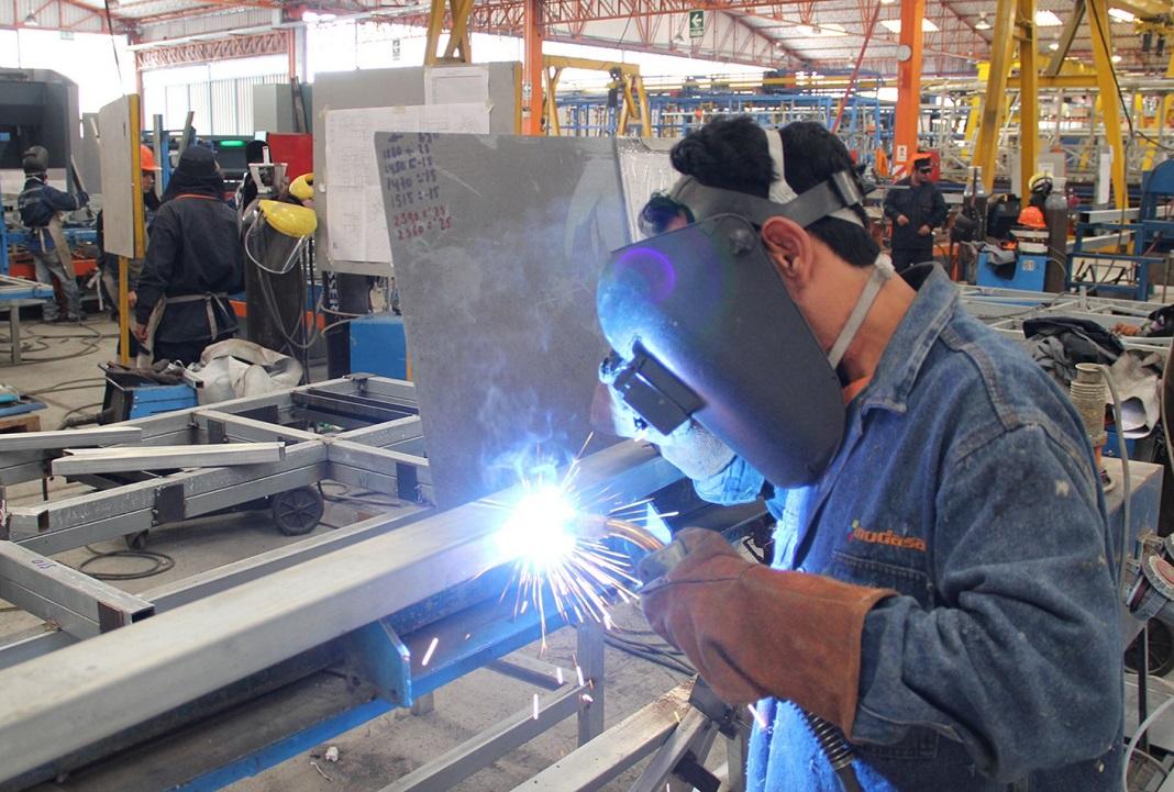 Capacidad instalada industrial fue de 63,3%