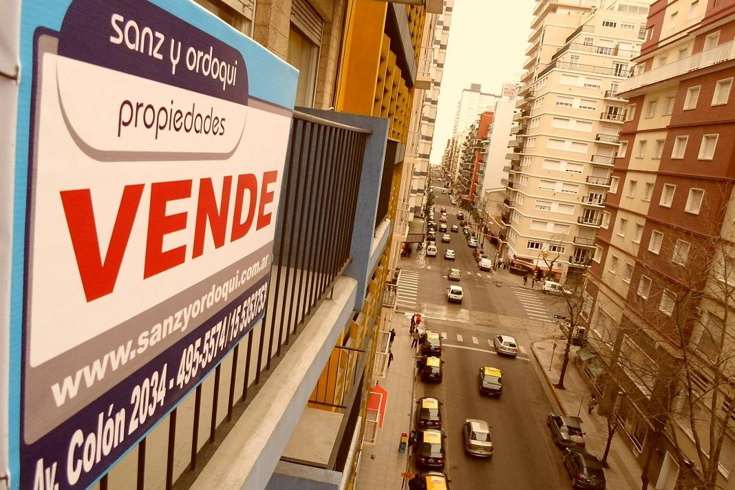 Operaciones inmobiliarias cayeron 26,5% en provincia de Buenos Aires