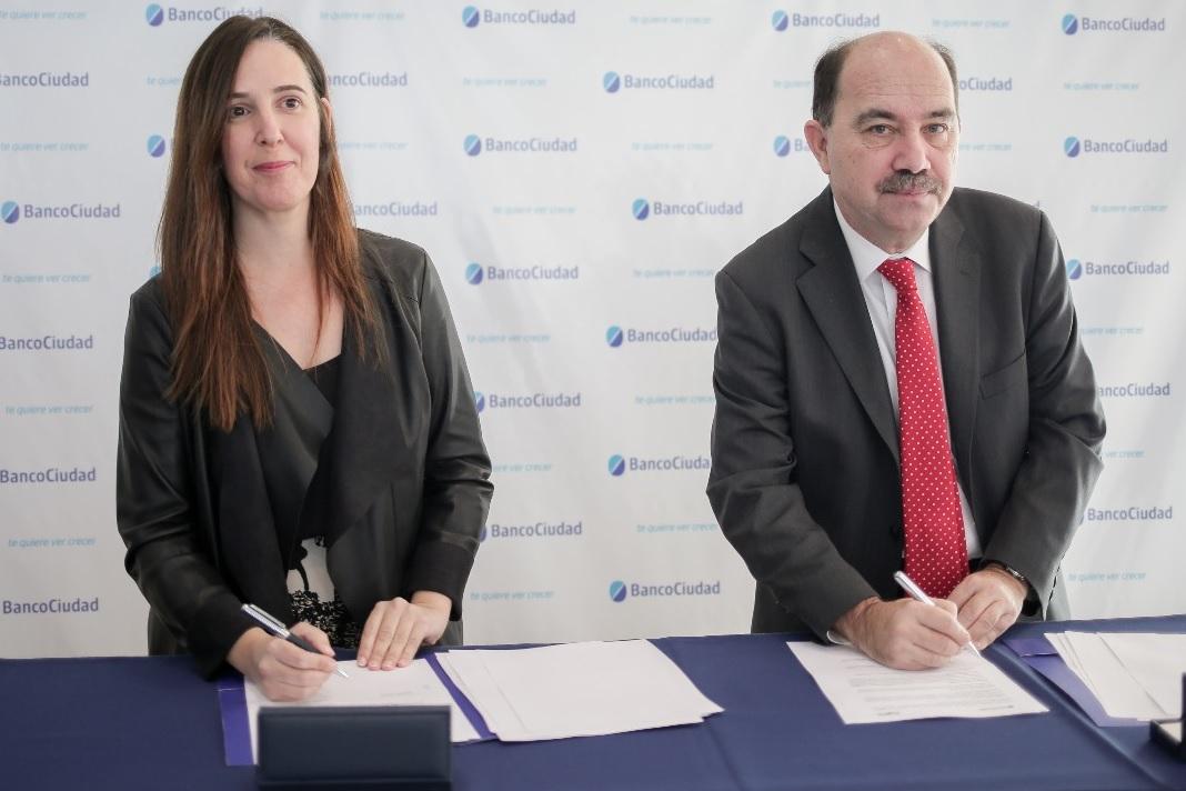 Acuerdo del Banco Ciudad y FOGABA para mayor crédito a las MiPymes