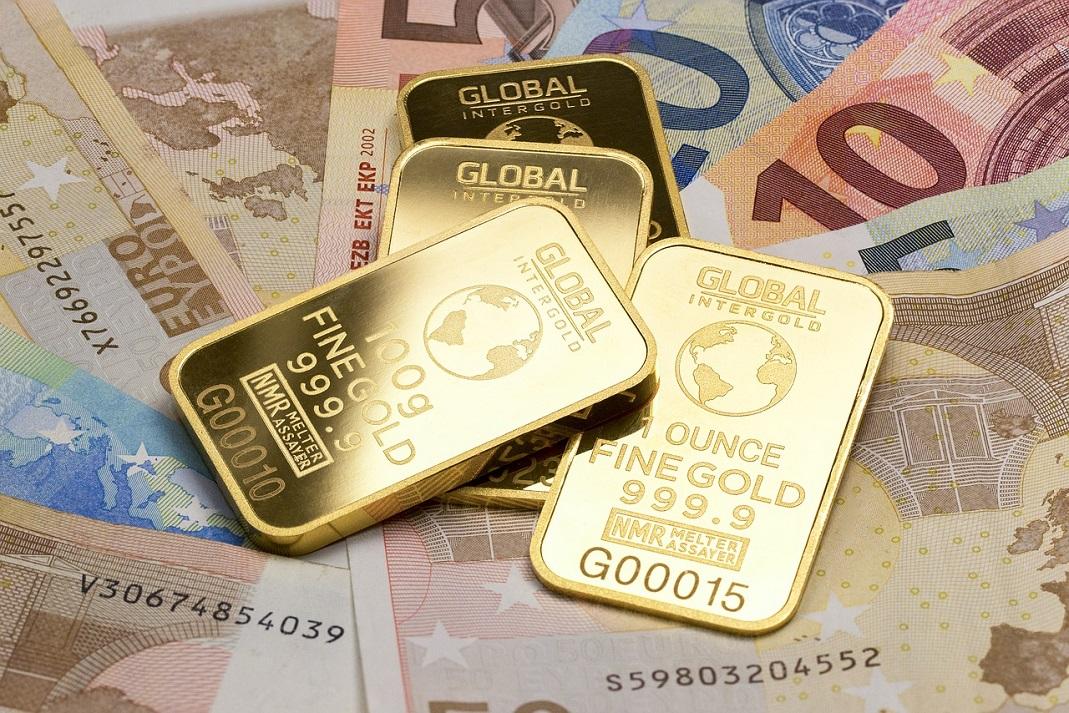 Los futuros del oro bajaron durante la sesión asiática