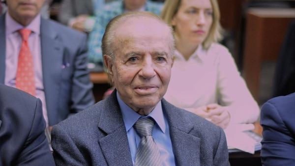 La muerte de Menem cambió el foco de una semana política marcada otra vez por la fuerte tensión con la Justicia
