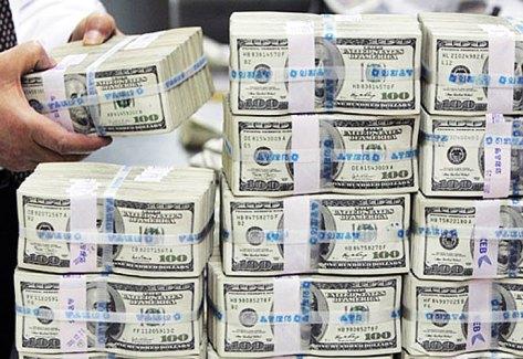 En mayo se destinaron más de us$11 mil millones a pagar deuda