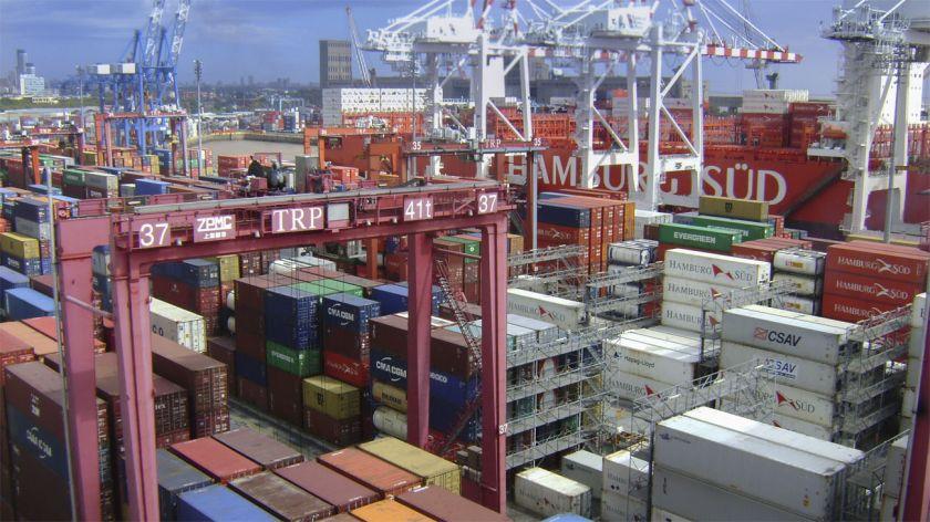 El déficit comercial de bienes EEUU se reduce en septiembre