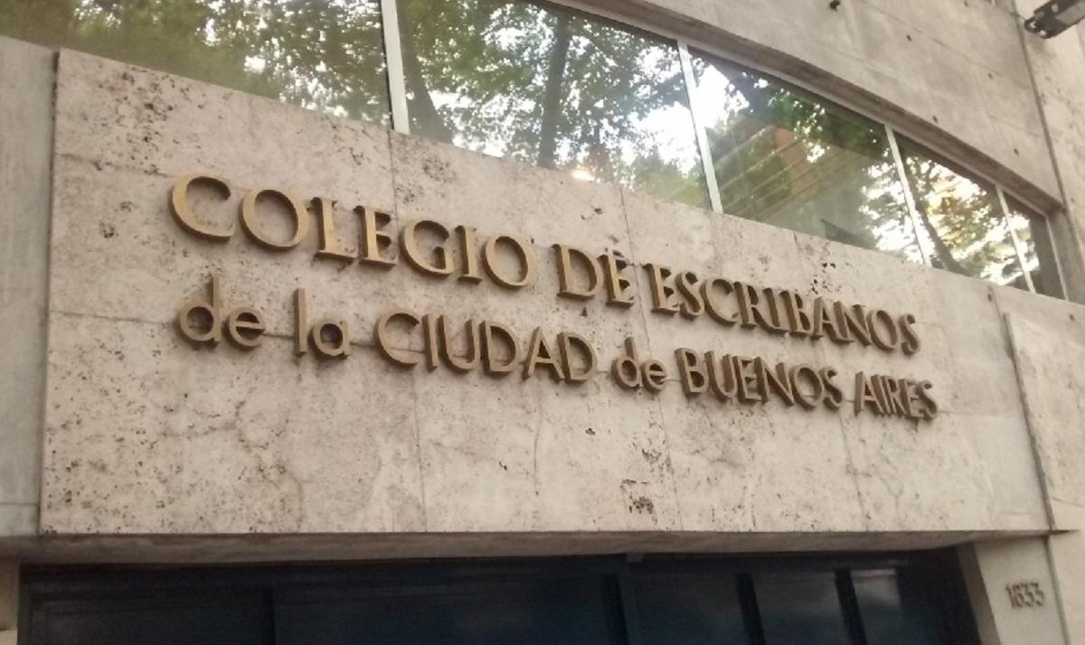 """El Colegio de Escribanos bonaerense destaca una """"incipiente recuperación"""""""