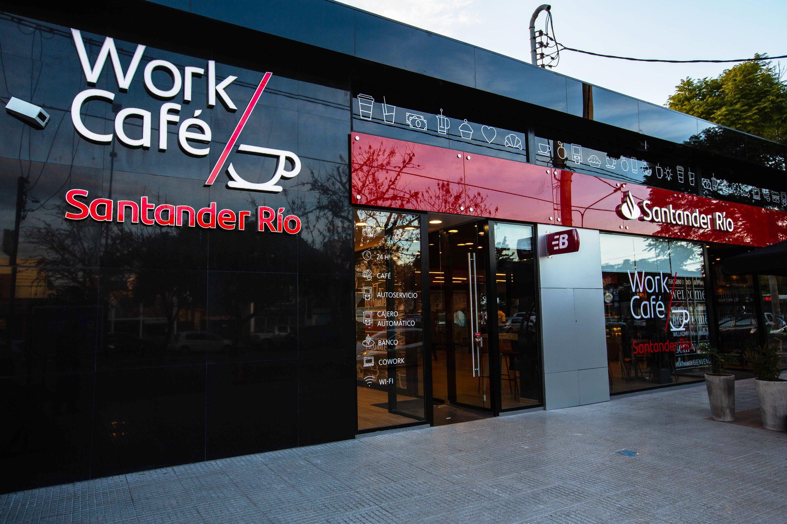 Santander Río inauguró su primer Work Café en Córdoba