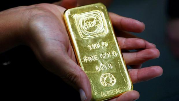 El Oro sube a máximos en dos semanas por baja del dólar
