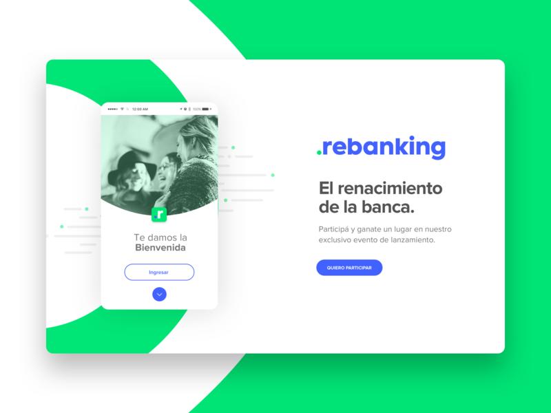 Rebanking: Comenzó a funcionar otra app financiera