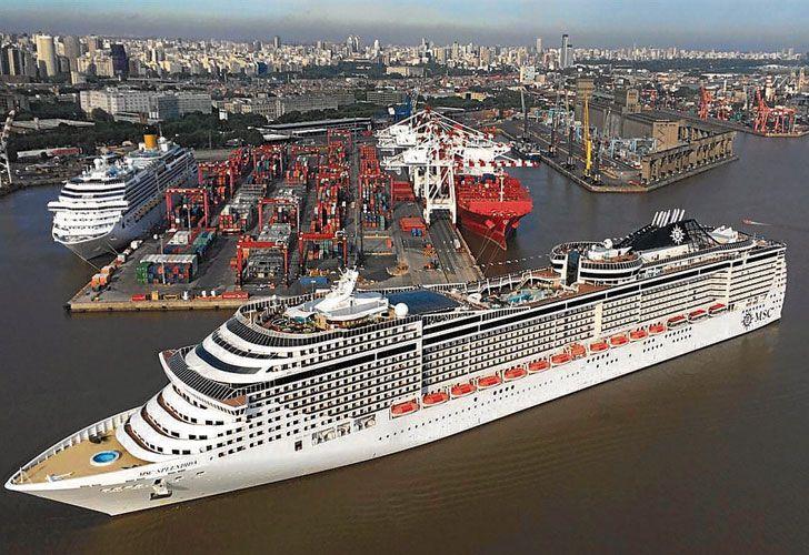 Aumentan las reservas en el puerto de Ushuaia