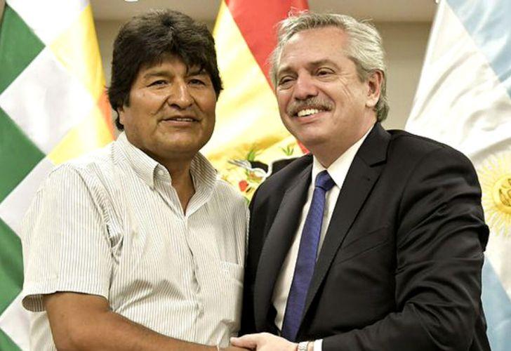 Alberto Fernández respaldó a Evo, en medio de la interna boliviana