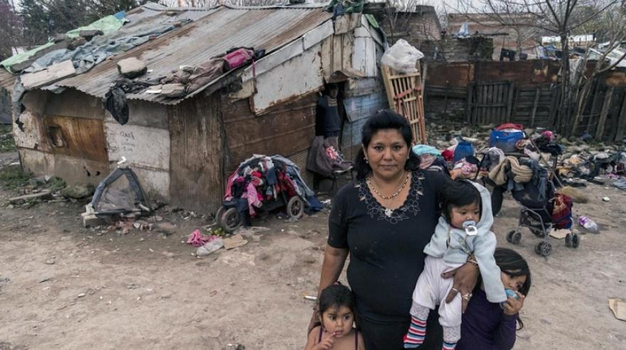 La inflación de los más pobres fue de 45,5% en 2020