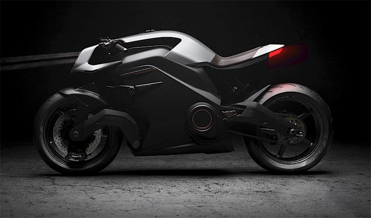 La moto eléctrica más exclusiva del mundo