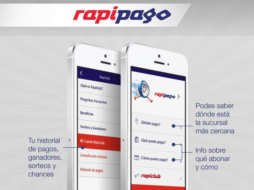Rapipago presentó su nueva opción de pago con Facebook