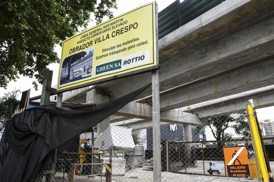 Licitación para terminar el viaducto del San Martín
