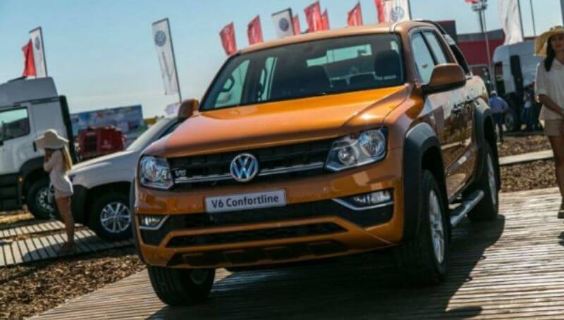 Volkswagen retirará 200.000 pickup Amarok en el mundo