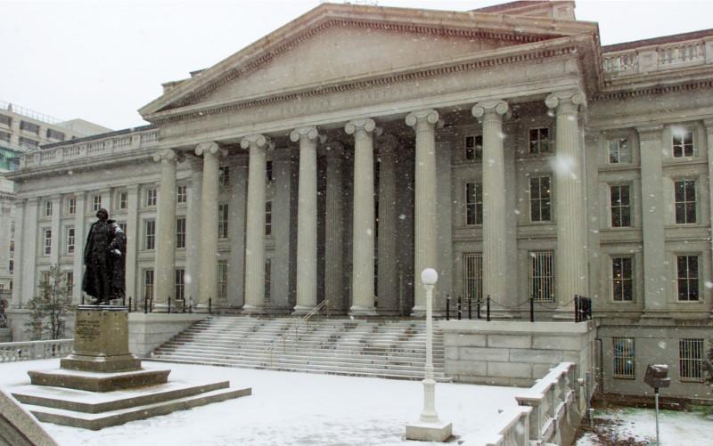 Bonos del Tesoro de EEUU caen tras dato de ventas minoristas