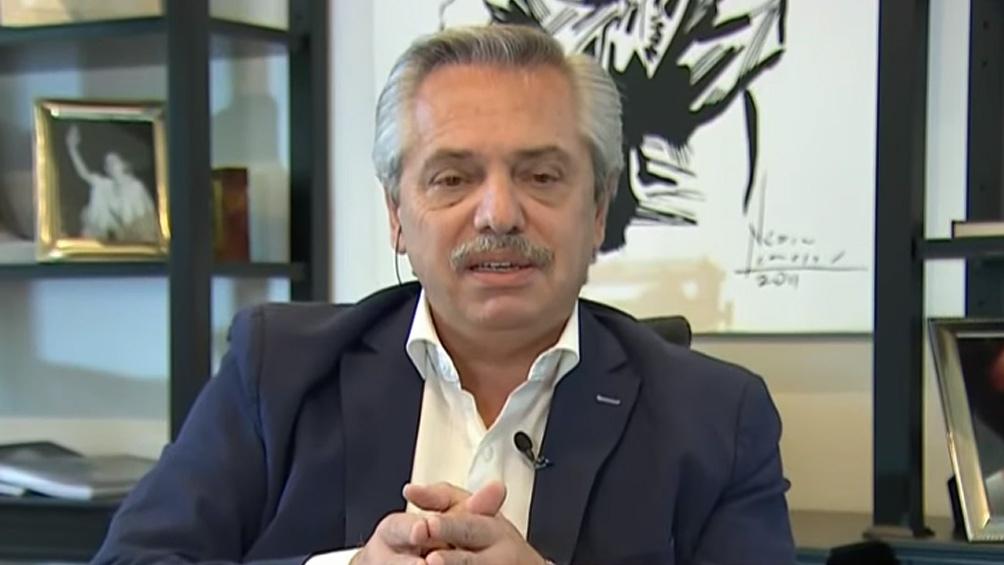 """Fernández: """"No me va a temblar el pulso para prorrogar la cuarentena"""""""