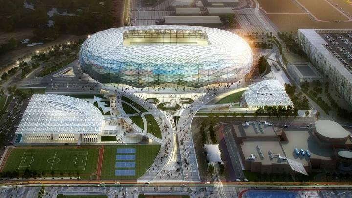 Qatar inaugurará un estadio con refrigeración a energía solar para el Mundial