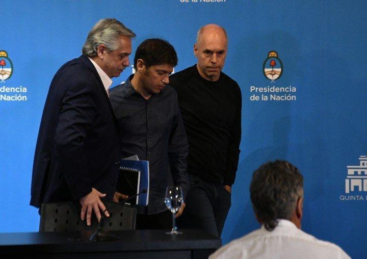 Sin acuerdo entre Larreta y Kicillof, Alberto busca repetir la foto de unidad