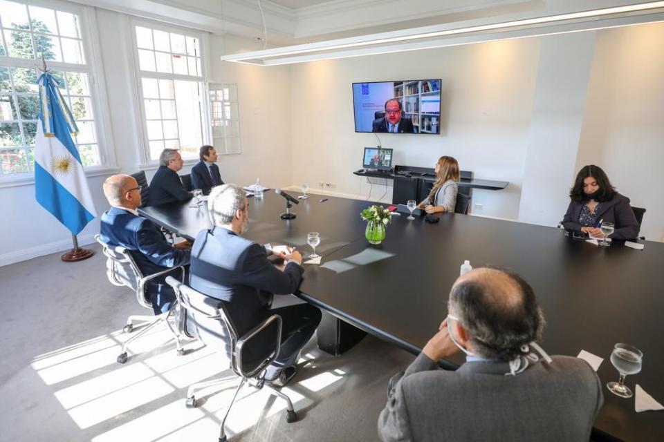 Reunión con representantes de al ONU