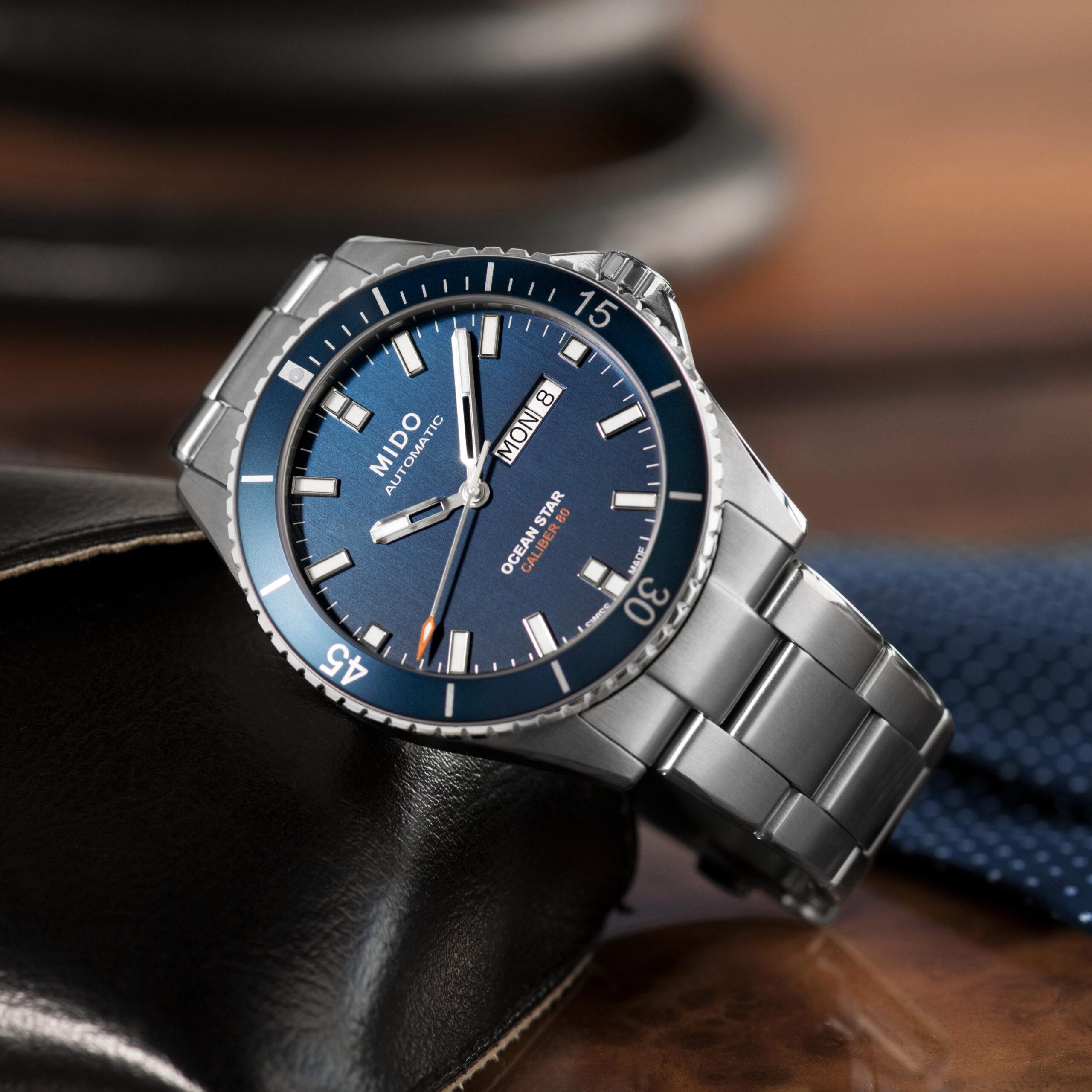 Mido Ocean Star Captain, originalidad en un reloj