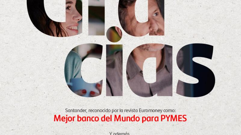 """Euromoney reconoce a Santander como el """"Mejor Banco del Mundo en Diversidad e Inclusión"""""""