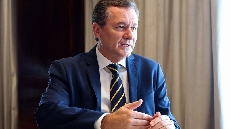"""Hensel llamó a """"eliminar obstáculos"""" para alentar las inversiones mineras"""