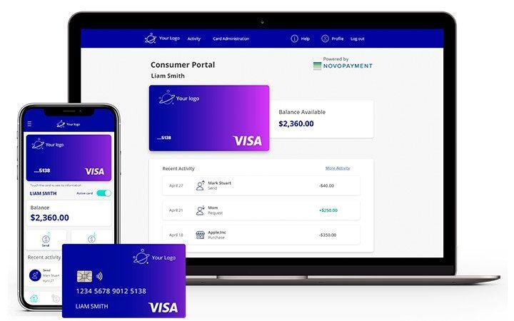 Visa-NovoPayment: lanzan una solución para la Emisión Instantánea de Cuentas Virtuales