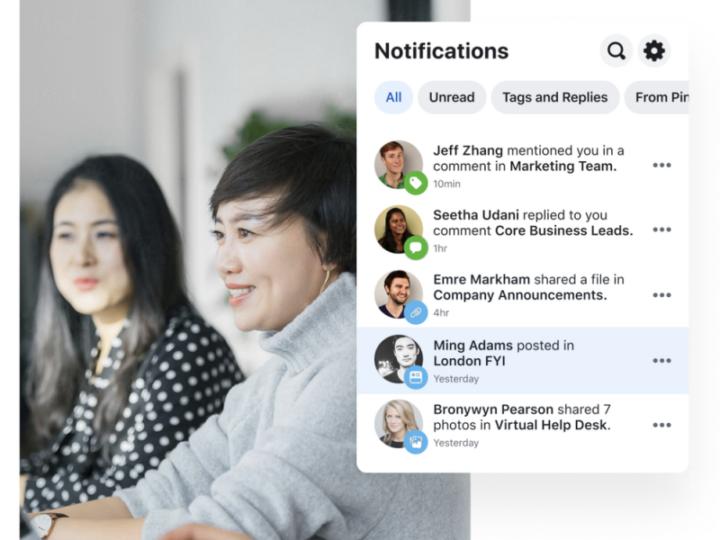 Mantén a tu MiPyme conectada y en movimiento con la versión gratuita de Workplace de Facebook