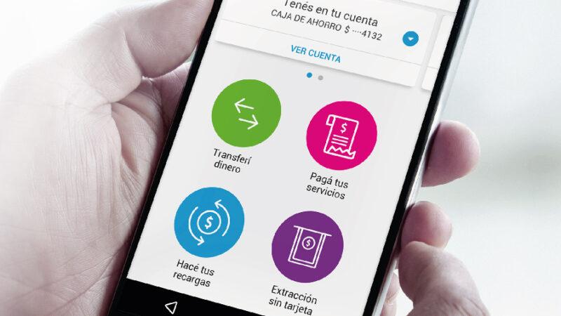 "Banco Macro. ""Transformá tu celular en un banco""."