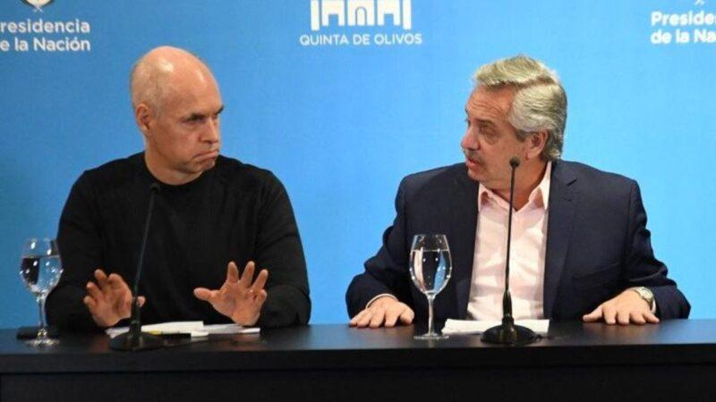 El Gobierno avanza con otro recorte a la Ciudad y Rodríguez Larreta va a la Justicia