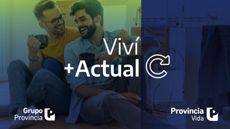 Provincia Vida lanzó +Actual, un seguro con ajuste por CER