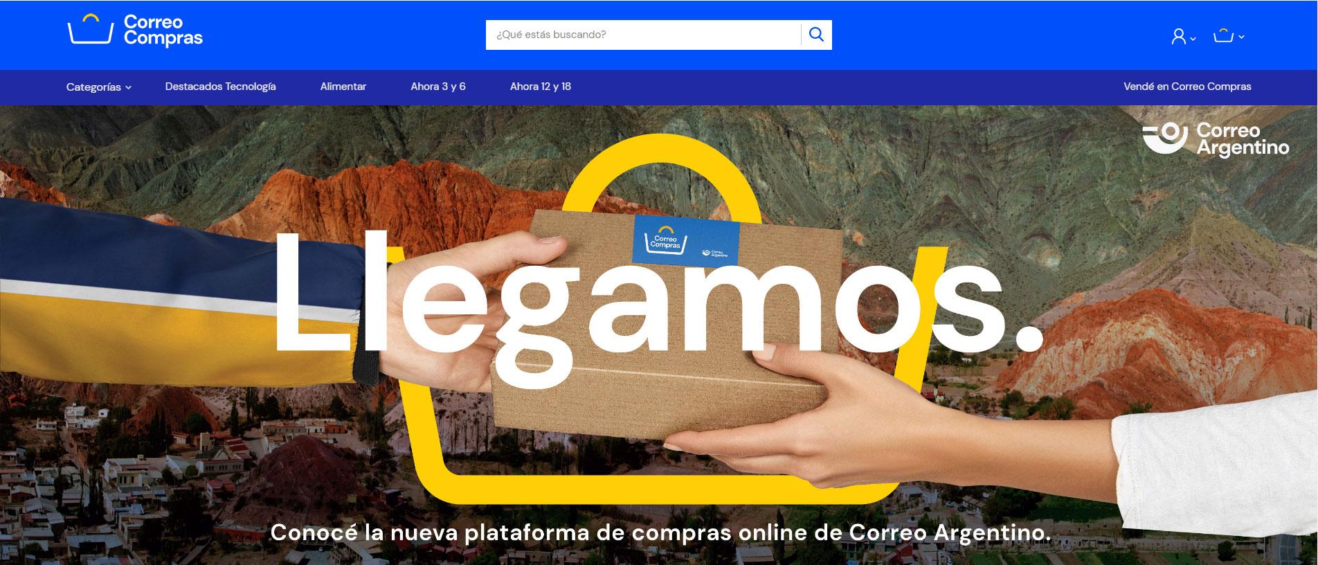EL Gobierno lanza Correo Compras. Una aplicación para ventas online.