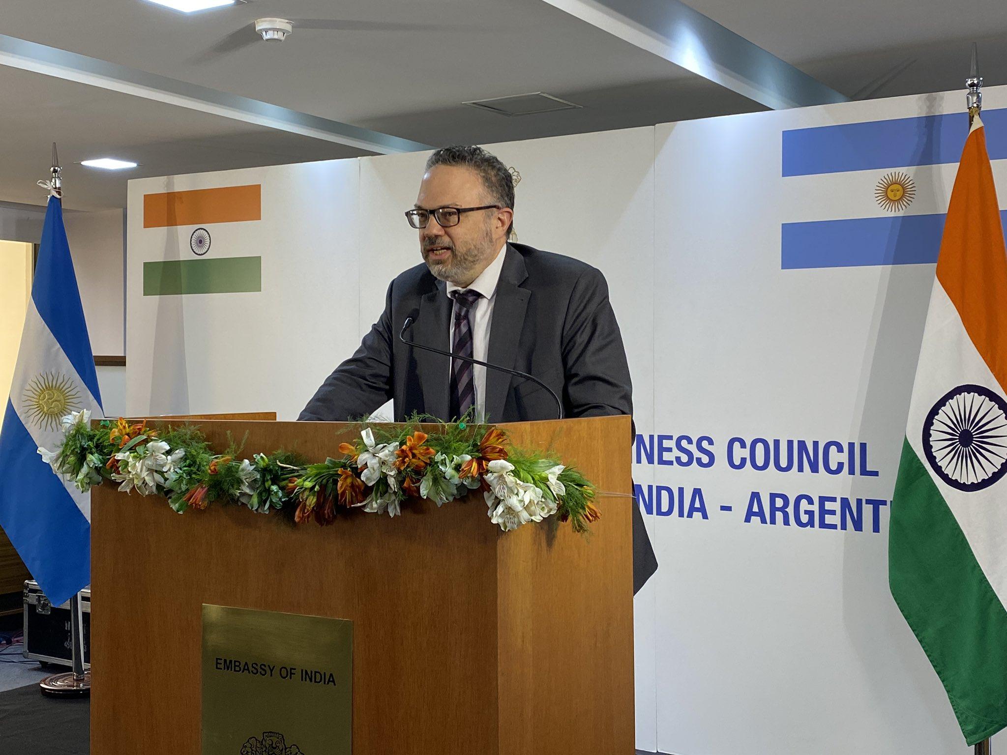 Lanzan el Consejo Empresario India-Argentina