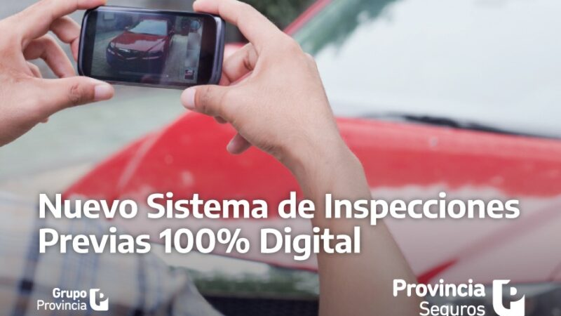 Provincia Seguros lanzó un nuevo sistema de inspección digital para el ramo Automotores