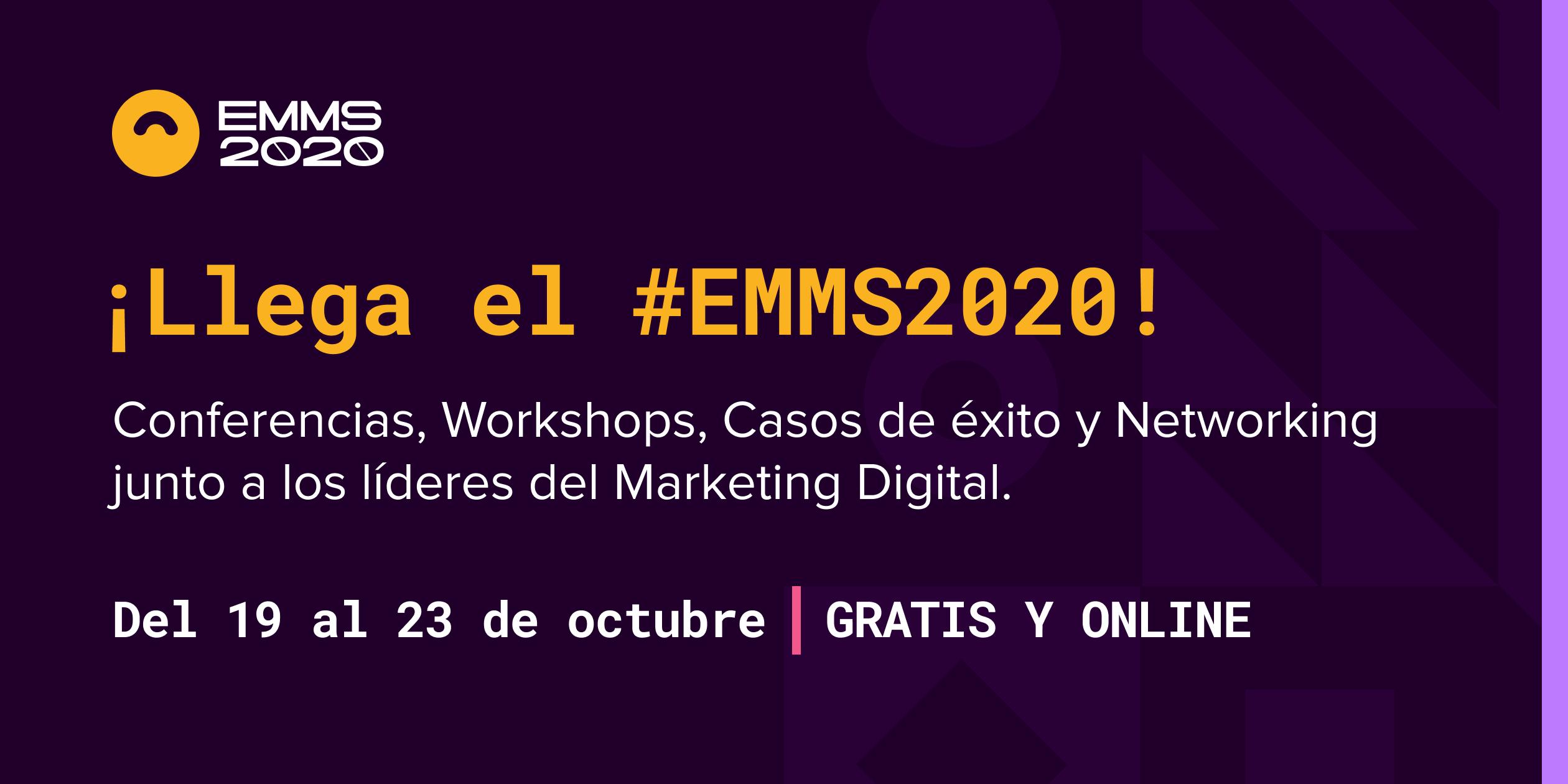 Se prepara una nueva edición del EMMS. 5 días a puro Marketing Digital