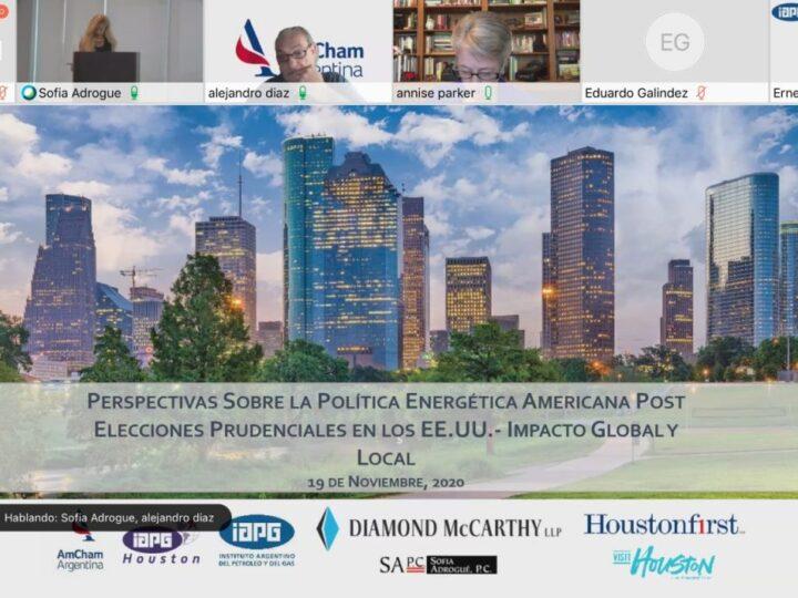 IAPG y la AmCham. Encuentro sobre política energética post elecciones EE.UU.