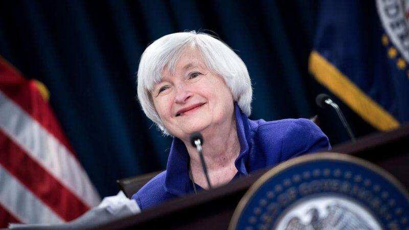 Yellen estará a cargo del Tesoro de EE.UU.