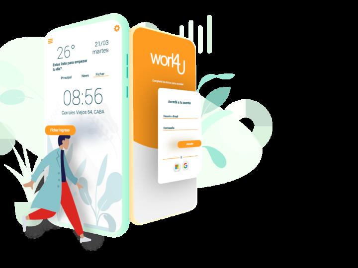 Work4U una app para gestión de RRHH que reporta síntomas de Covid-19