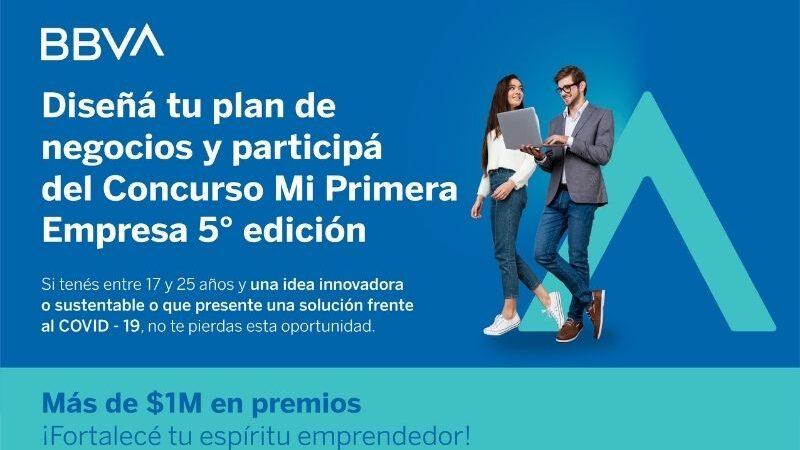 "5° edición de ""Mi Primera Empresa"". BBVA distinguió a emprendedores"