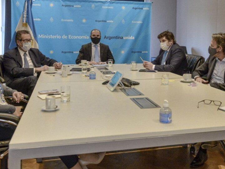 Febril agenda de reuniones del FMI con Guzmán, Pesce y Massa