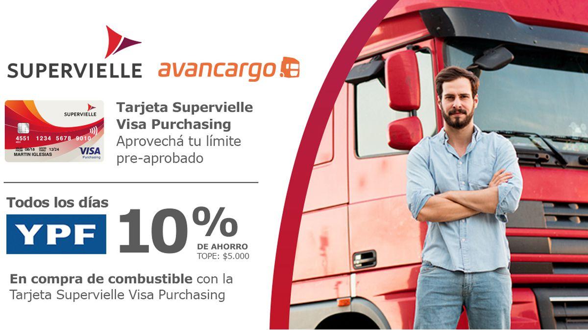 Avancargo- Supervielle ofrecen beneficios exclusivos para transportistas
