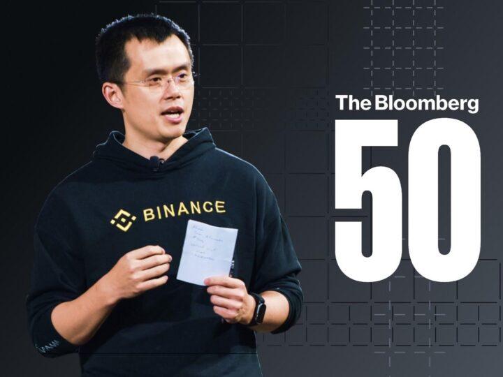 CEO de Binance 'CZ' incluido en el listado de líderes globales Bloomberg 50