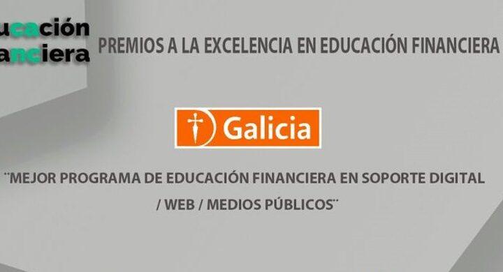 Banco Galicia ganador de primera edición de los Premios a la Excelencia en Educación Financiera 2020