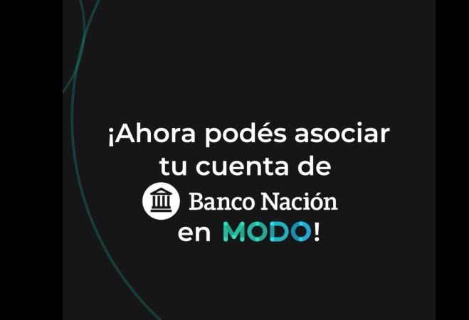 Banco Nación se integra a MODO