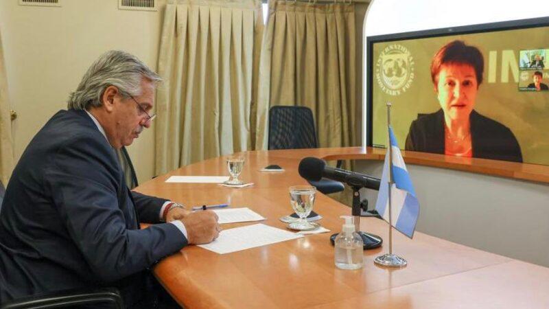 Georgieva ratificó el compromiso con Argentina
