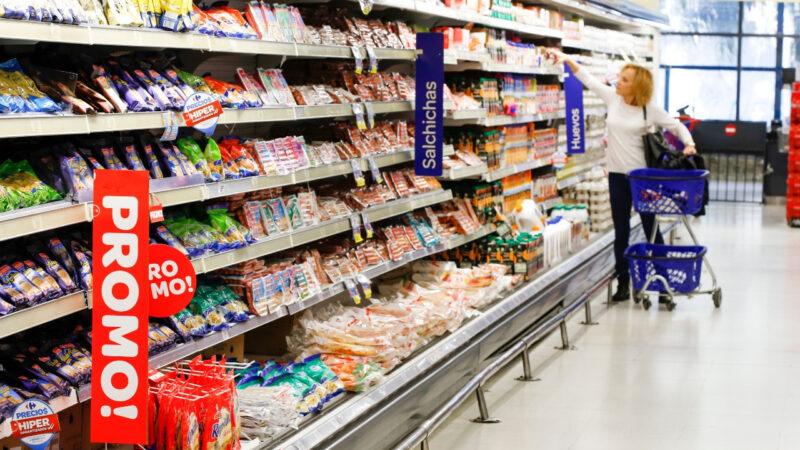 Ventas en los supermercados  2,6% arriba en diciembre