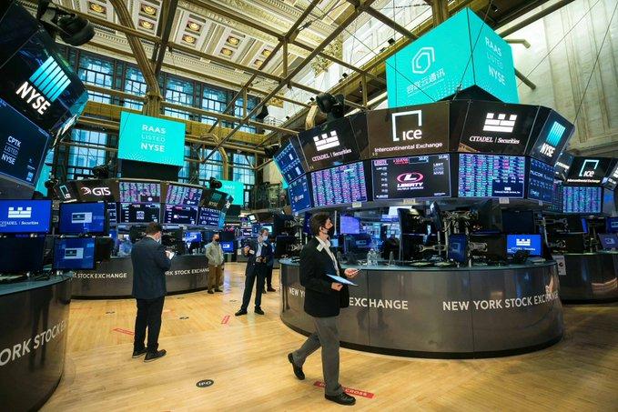 Bolsa de Nueva York cerró la semana en baja