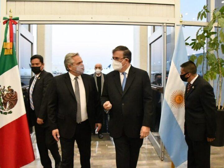 Fernández en México: Se reunió con altos empresarios y pidió por inversiones.